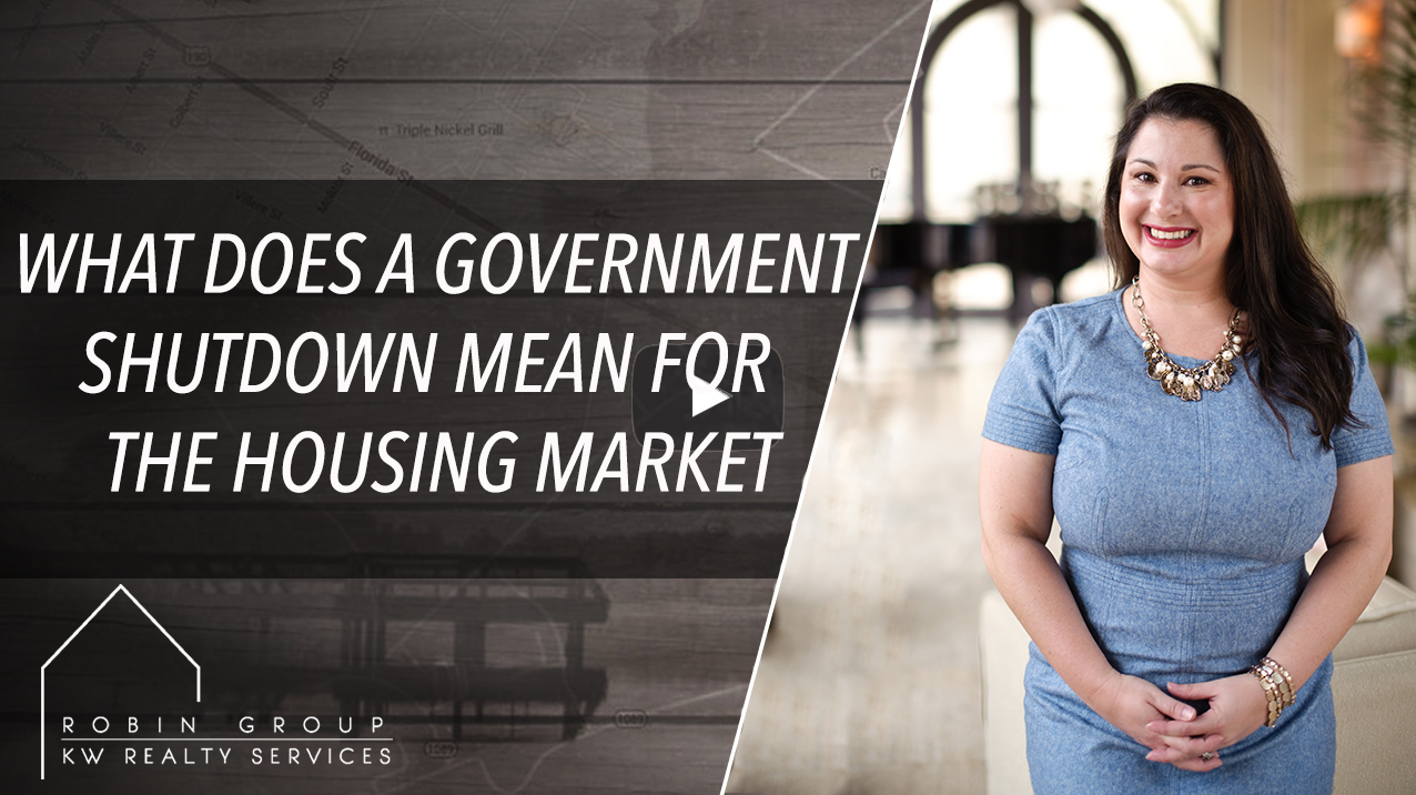 What Does A Governement Shutdown Mean For The Housing Market