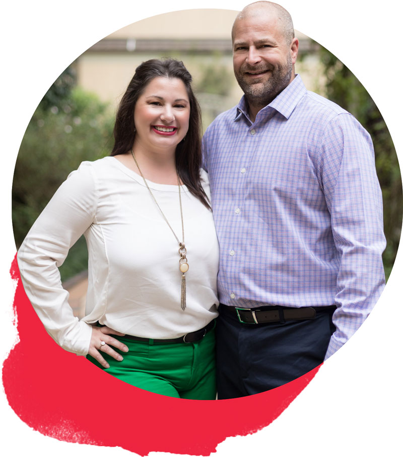 Tiffani Robin and Brett Bernheisel of Robin Realty