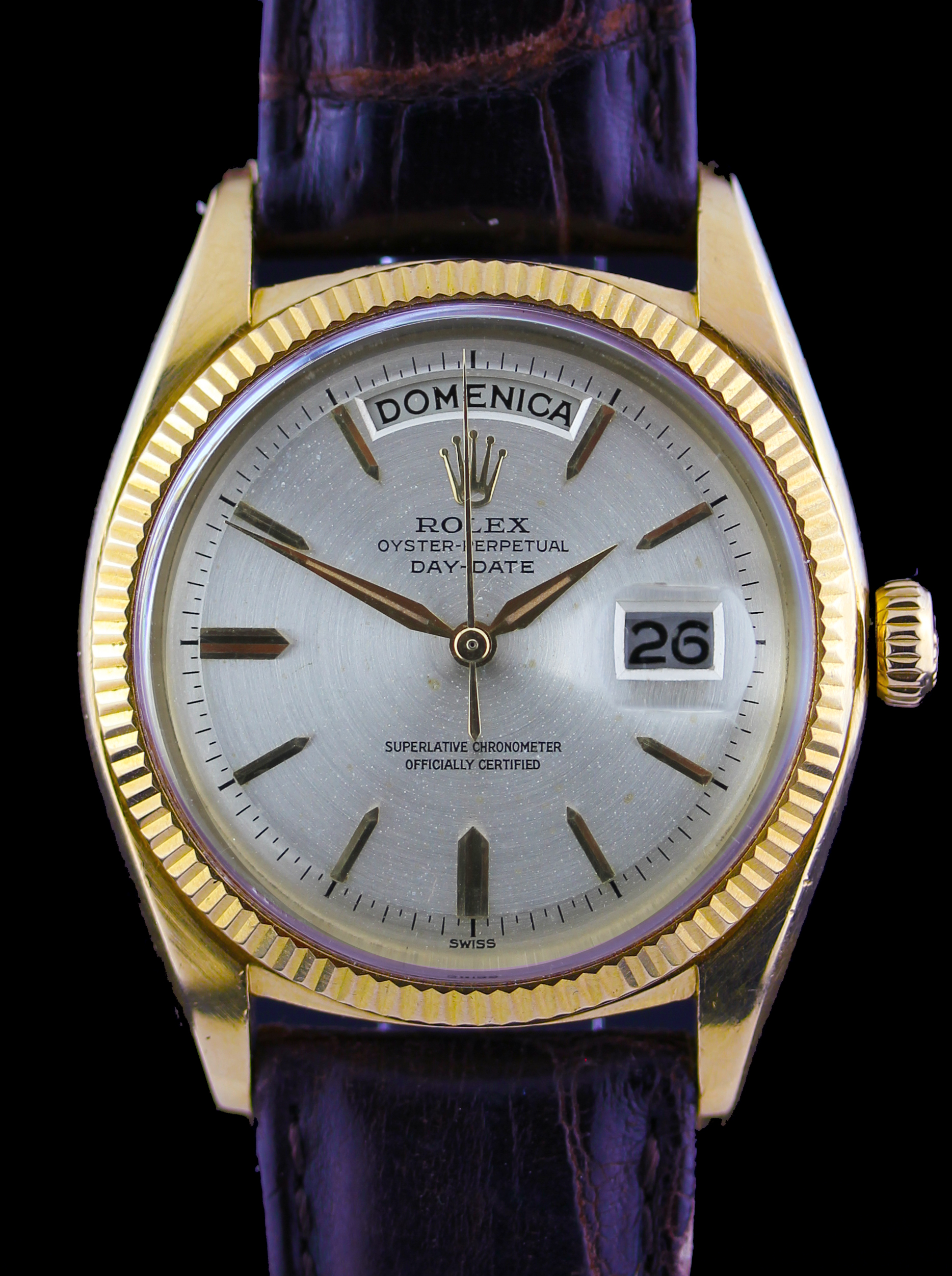 """Early Rolex Day-Date from 1961, so called """"Marilyn Monroe - John F. Kennedy Day-Date"""""""
