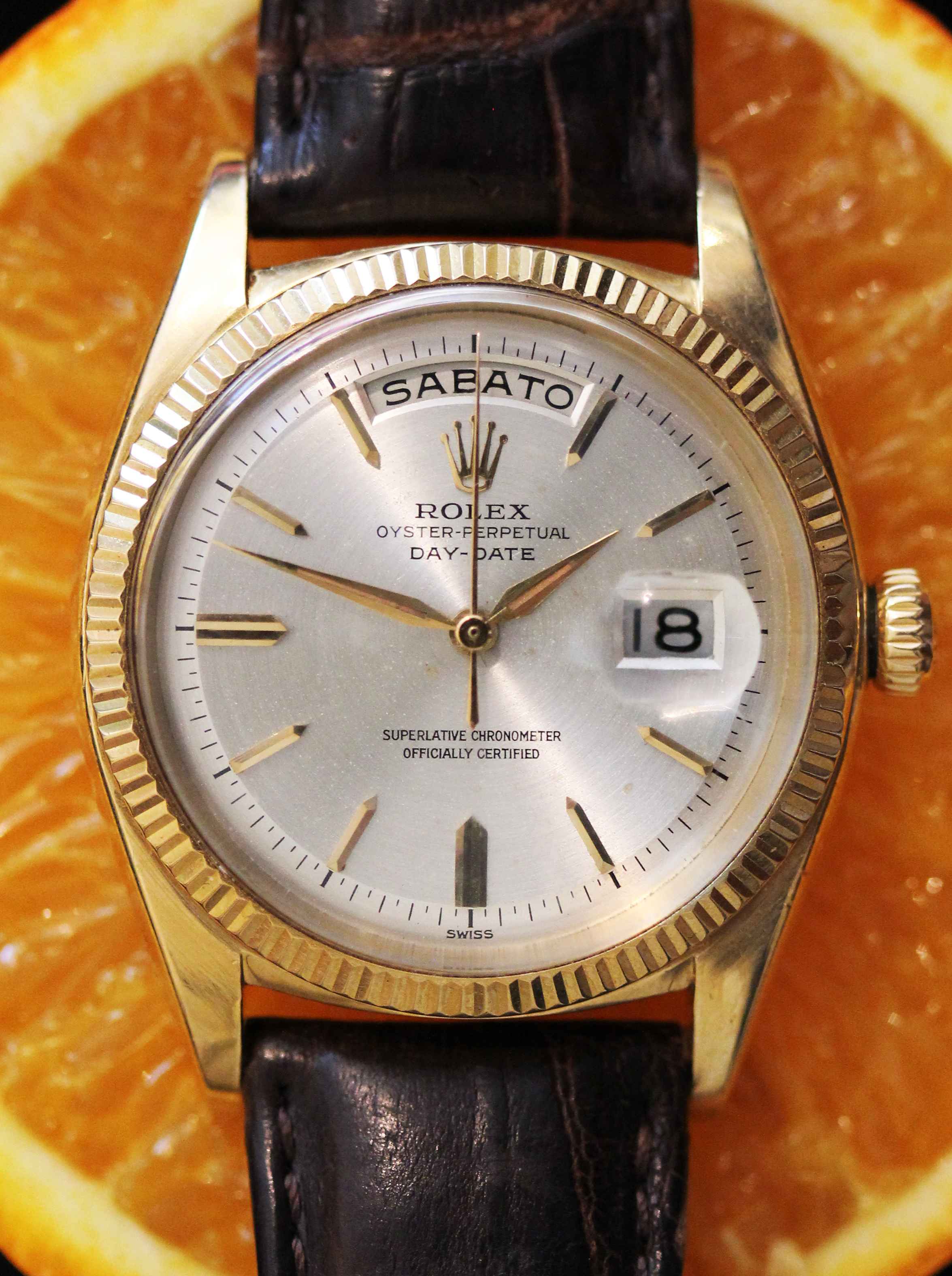 "Early Rolex Day-Date from 1961, so called ""Marilyn Monroe - John F. Kennedy Day-Date"""