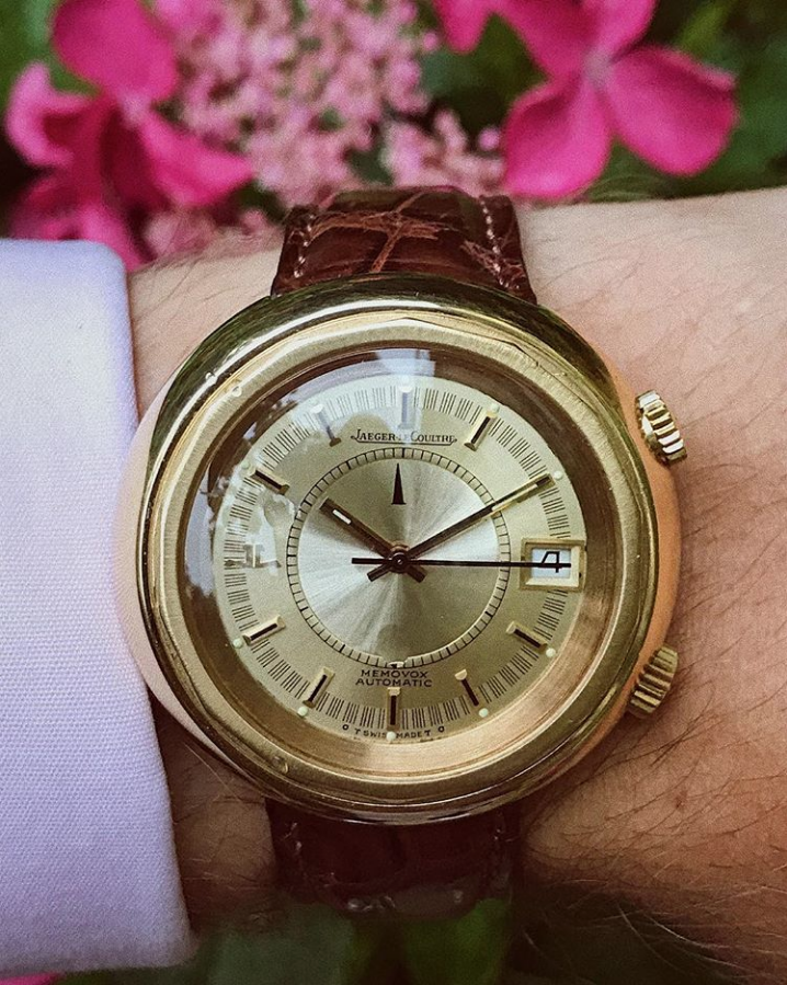 Jaeger LeCoultre Memovox Snowdrop GOLD