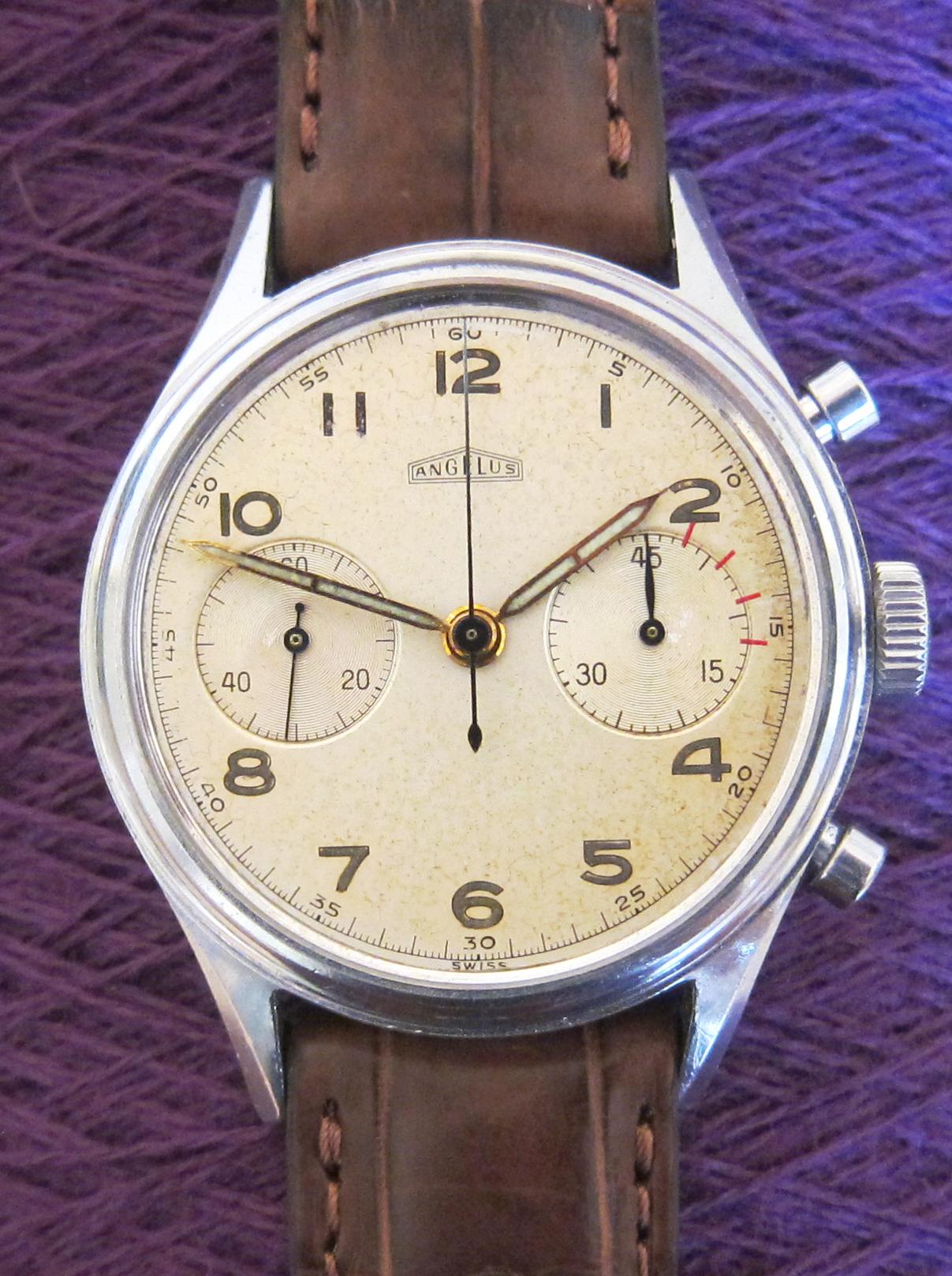 Big ANGELUS chronograph