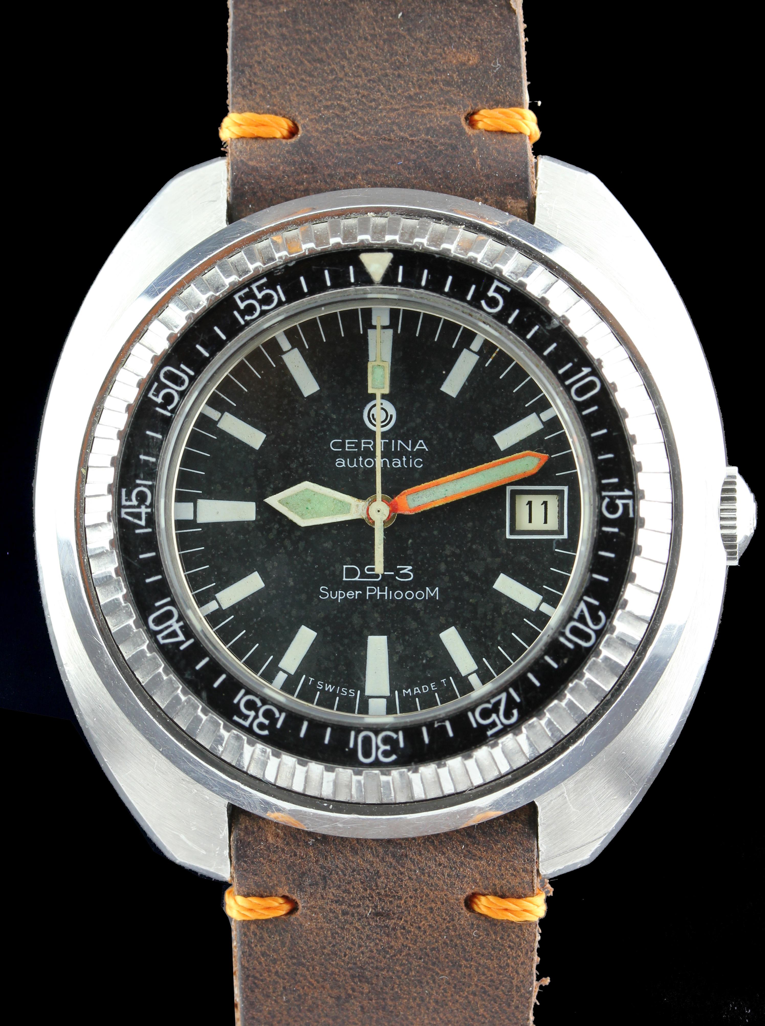 CERTINA Diving watch DS.3 Super PH 1000m