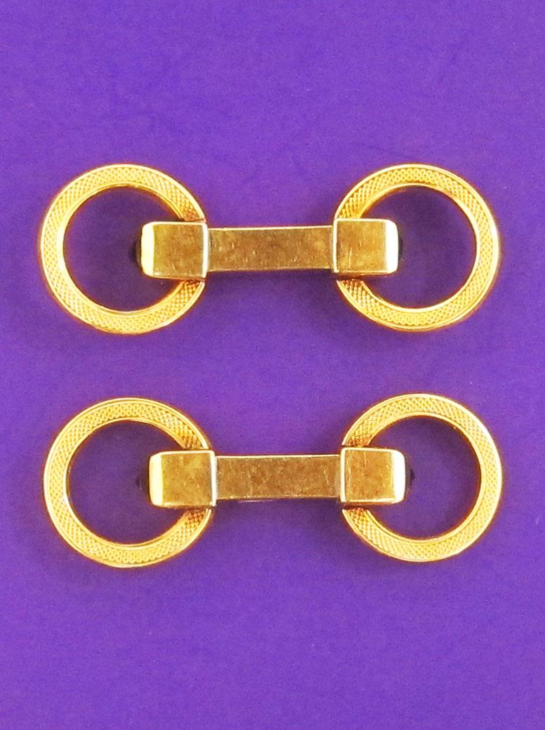 Cufflinks with onyx