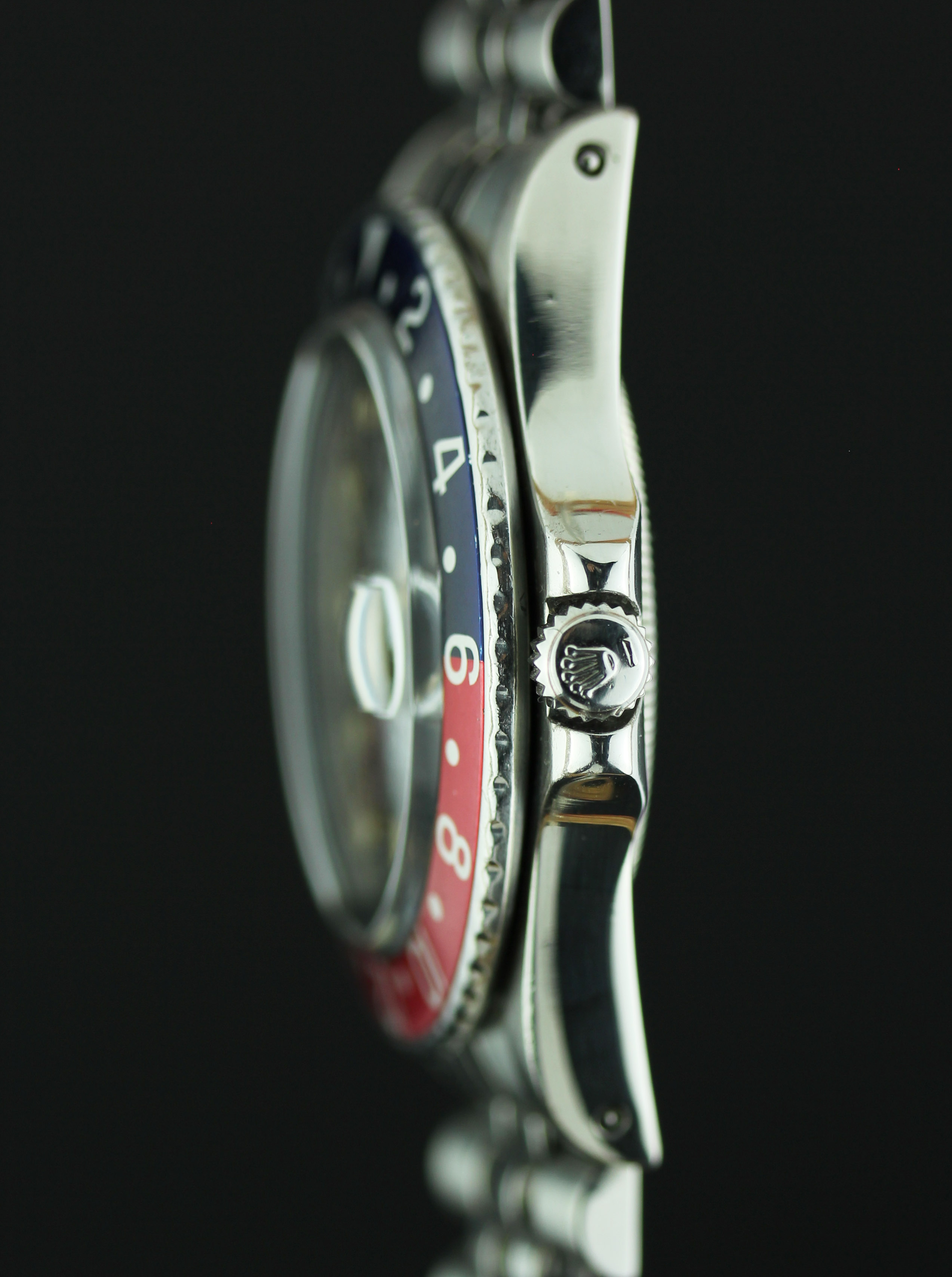 ROLEX GMT  ref. 16750 from 1983 with quick set