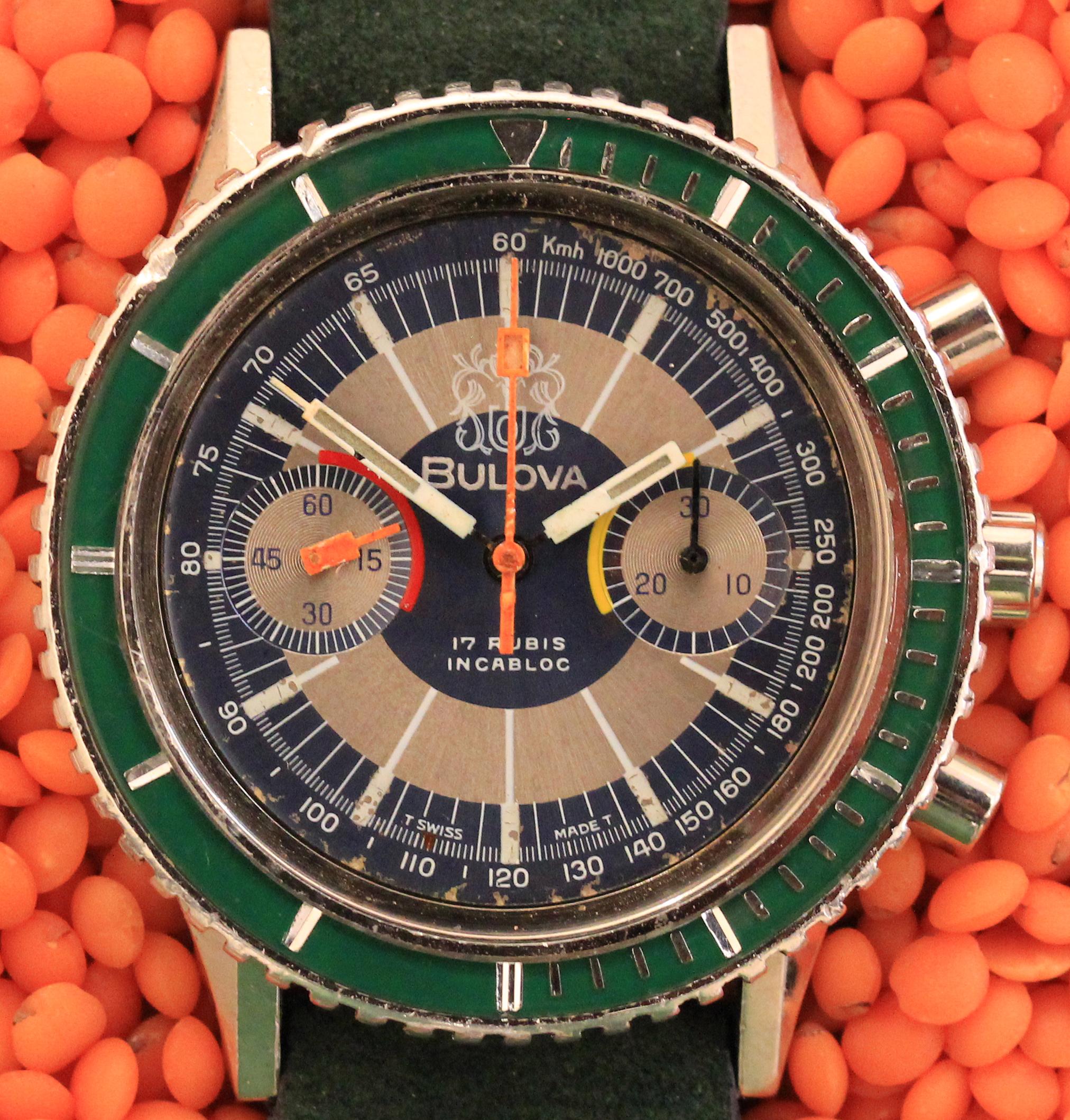 Colorful BULOVA chronograph