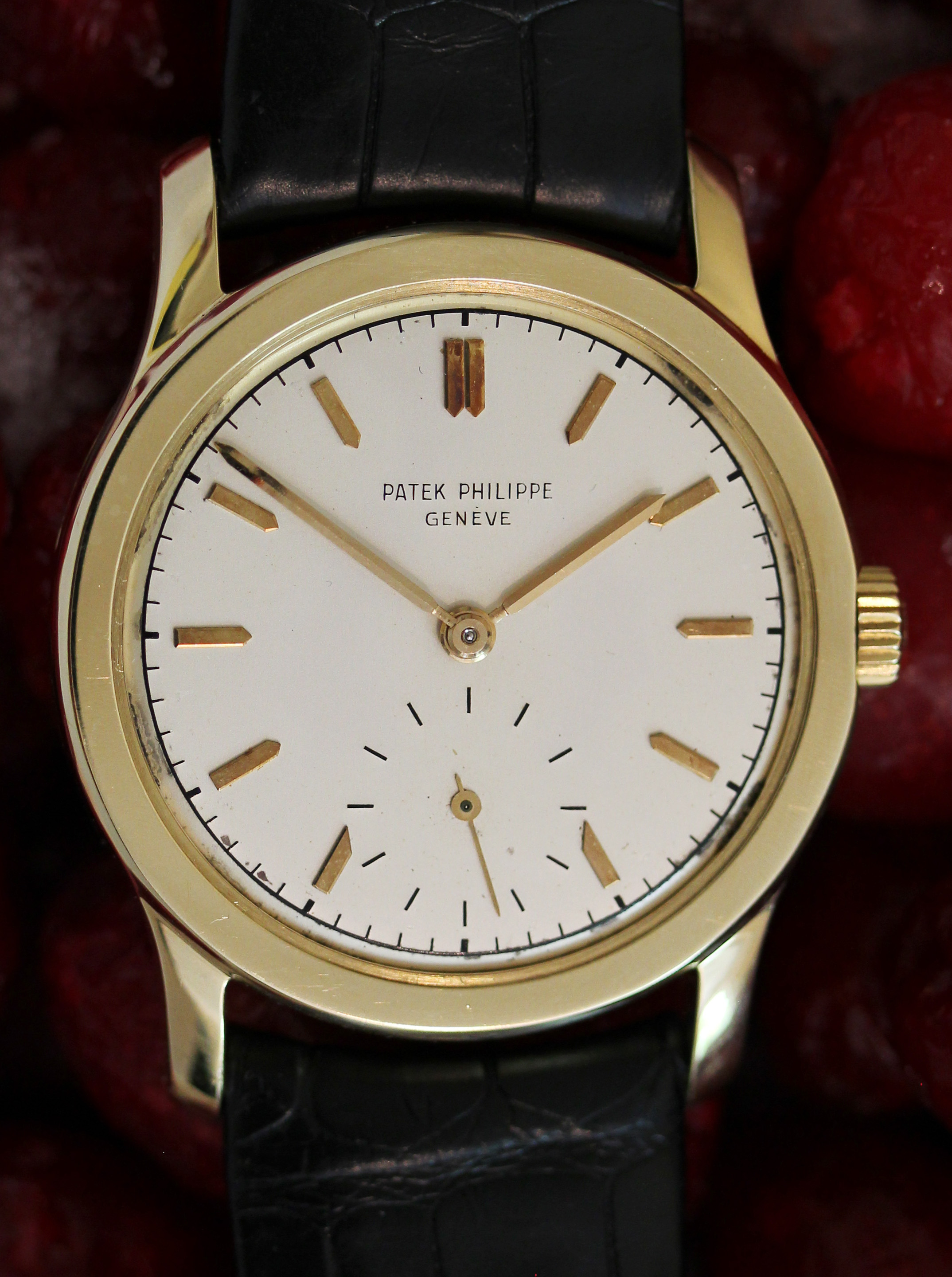 PATEK PHILIPPE Calatrava from 1955, ref. 2449