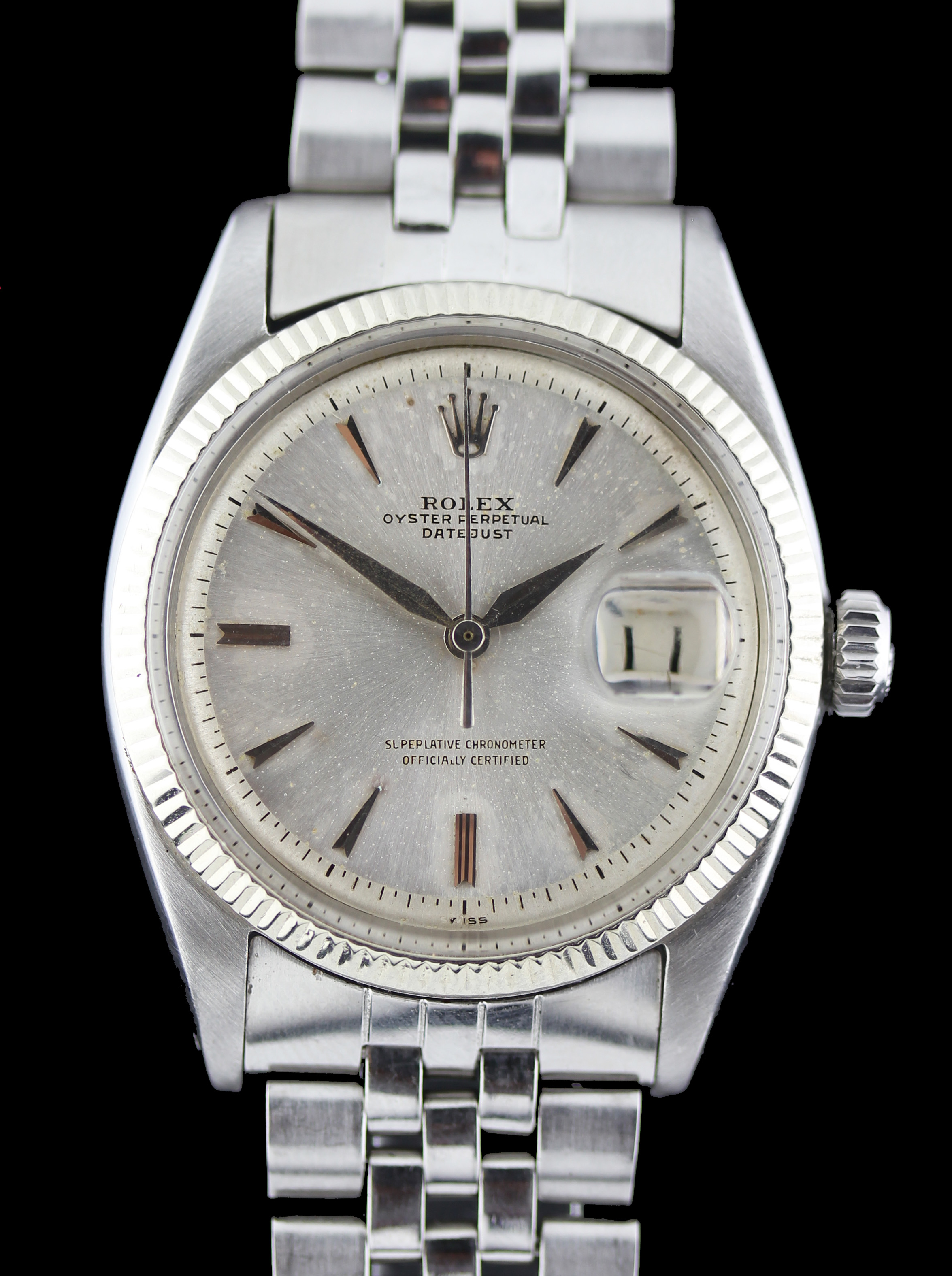 Early ROLEX Datejust ref. 6605, from 1959