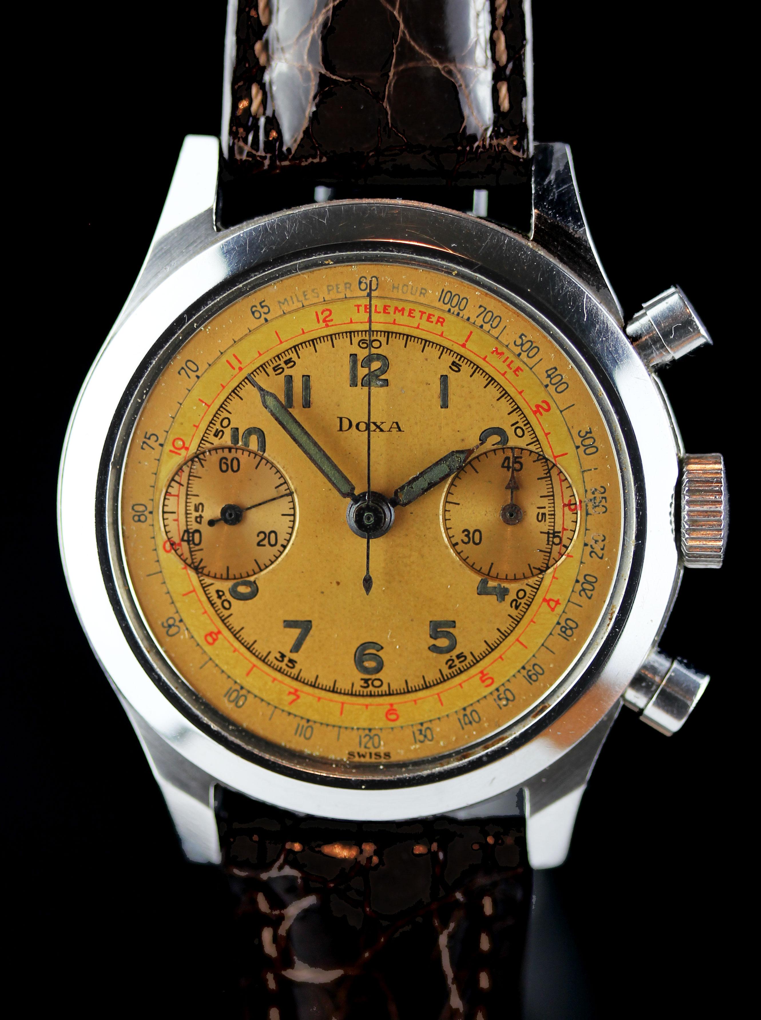Rare DOXA chronograph
