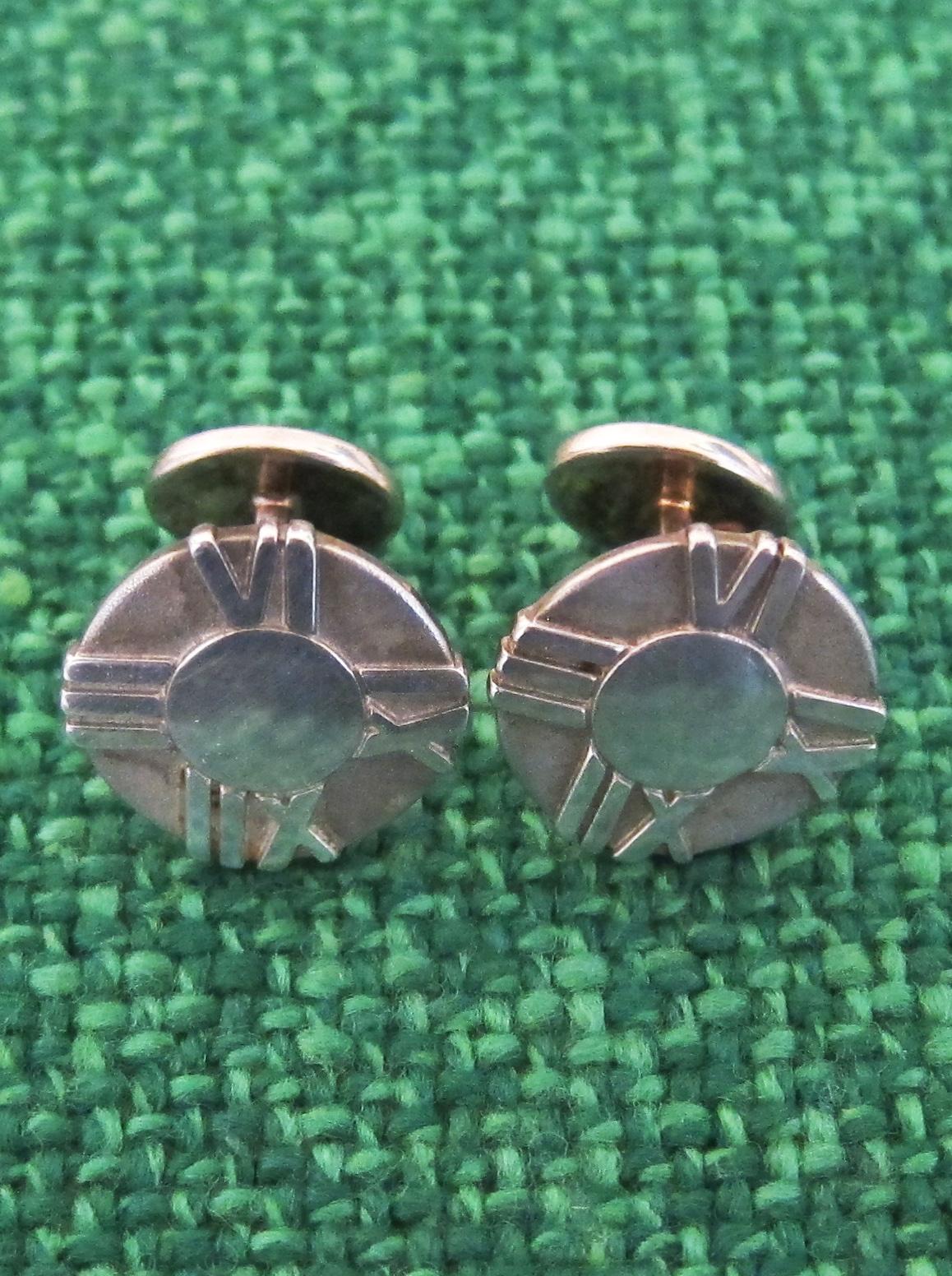 Pair of TIFFANY cufflinks
