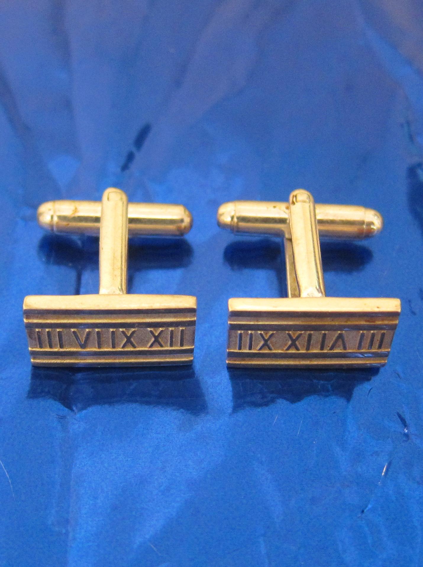 Silver TIFFANY cufflinks