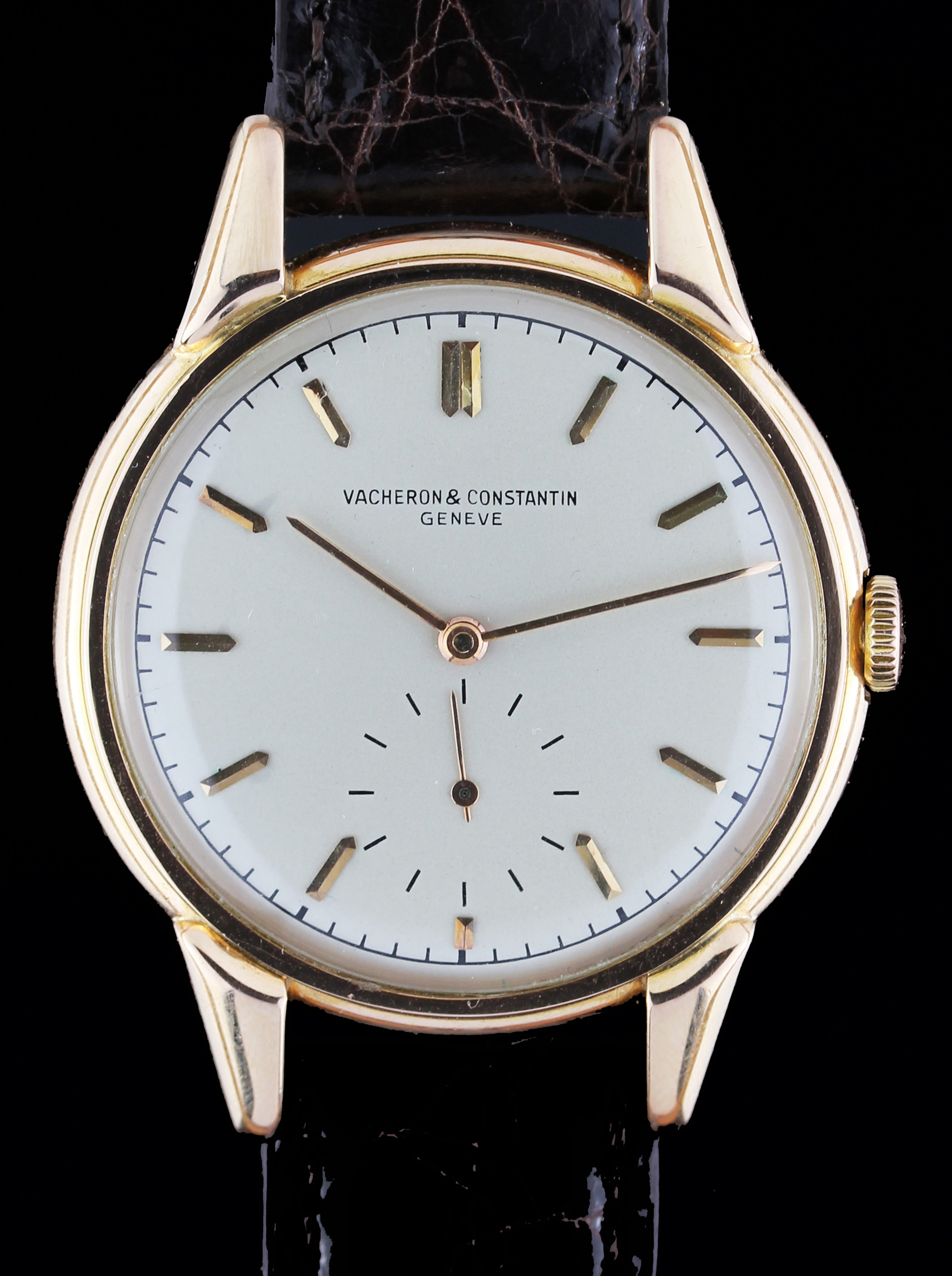 Oversize VACHERON & CONSTANTIN in rose gold