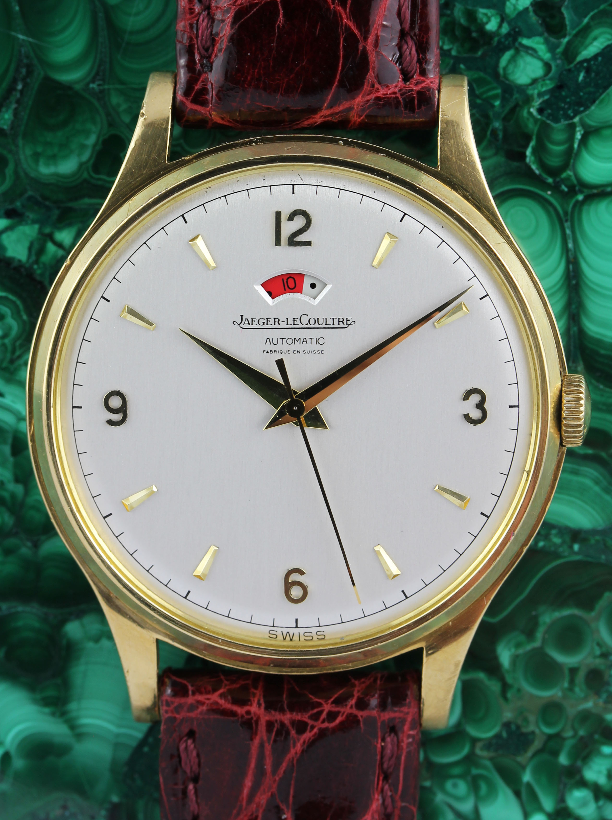 JLC power reserve in gold