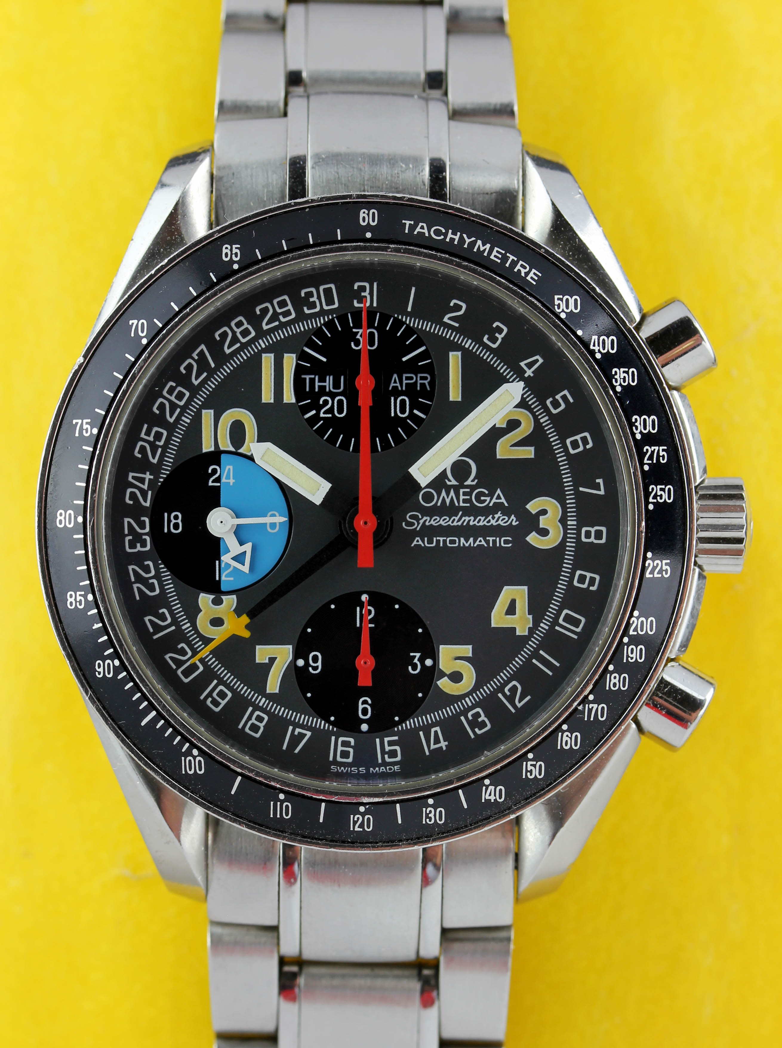 OMEGA Speedmaster Michael Schumacher Racing Day Date automatic