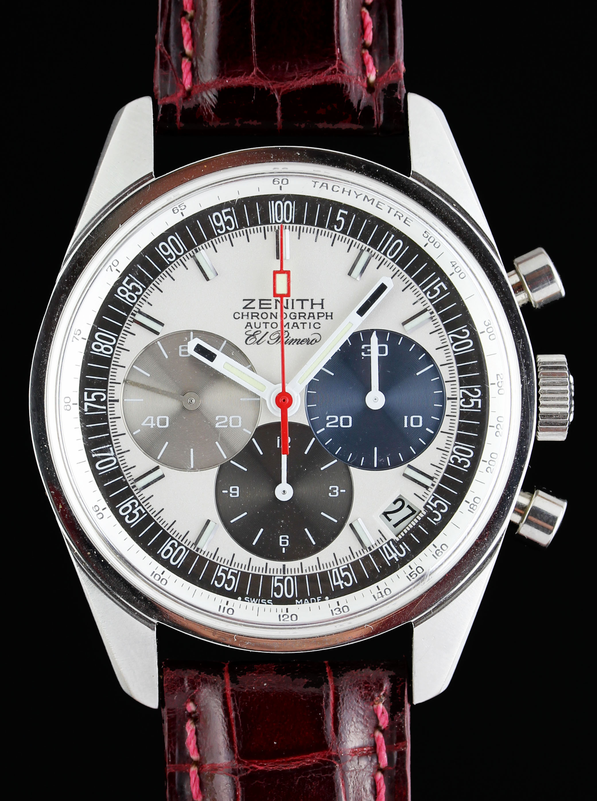 Zenith El Primero chronograph from the early 70' ies