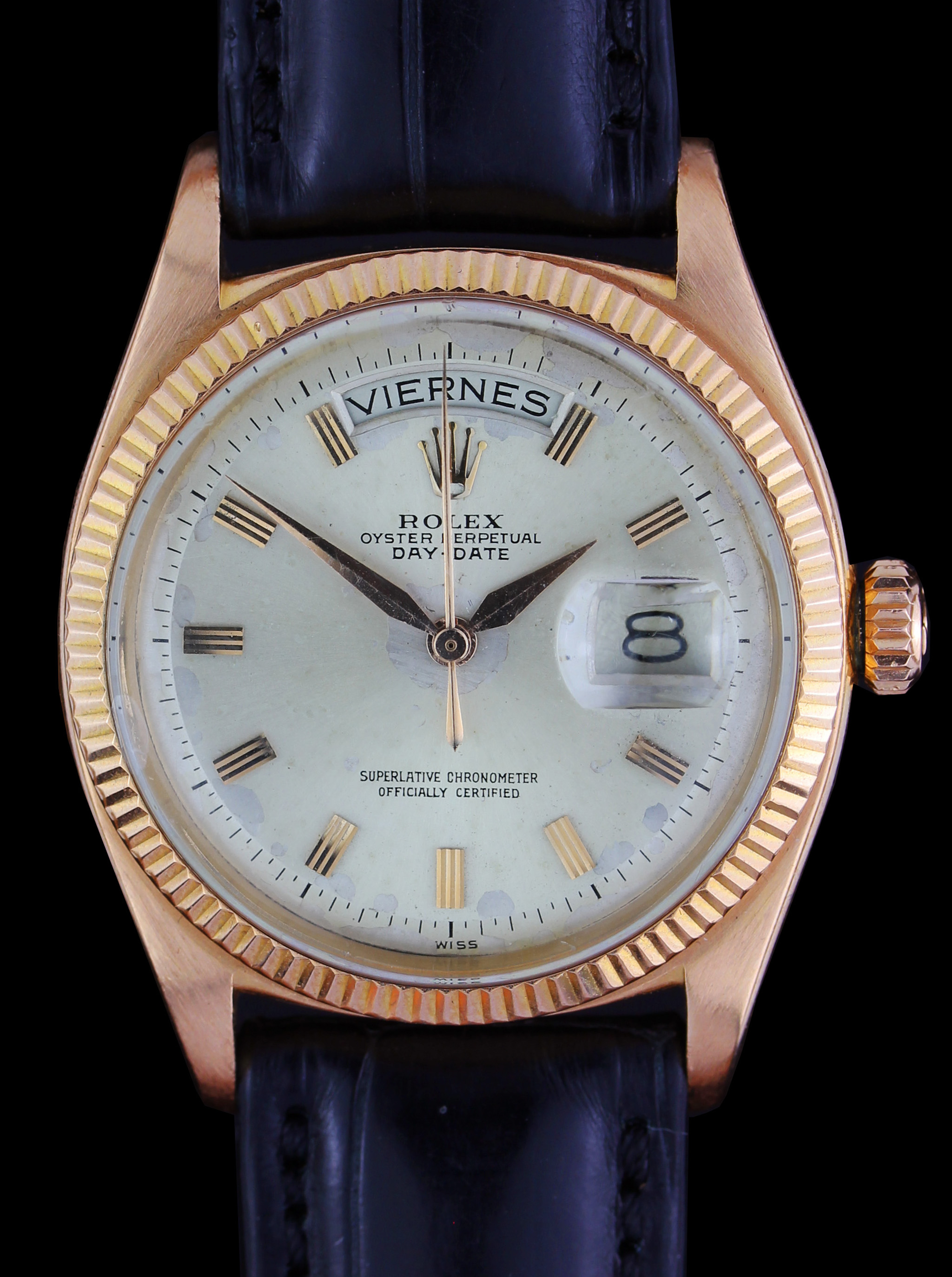 Early ROLEX Day-Date ref. 1803 in rose gold from 1959