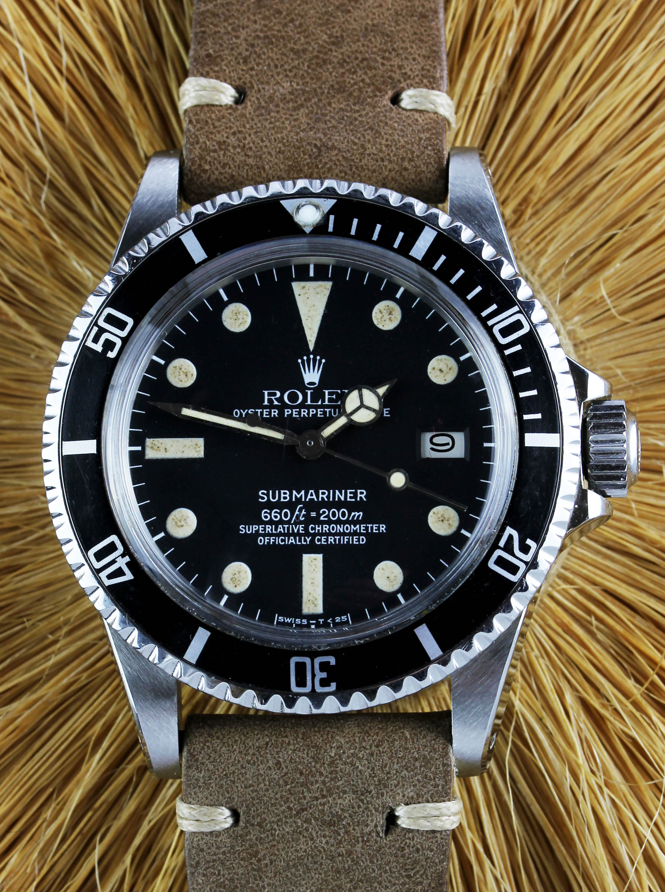 Vintage ROLEX-Submariner ref. 1680 from 1979