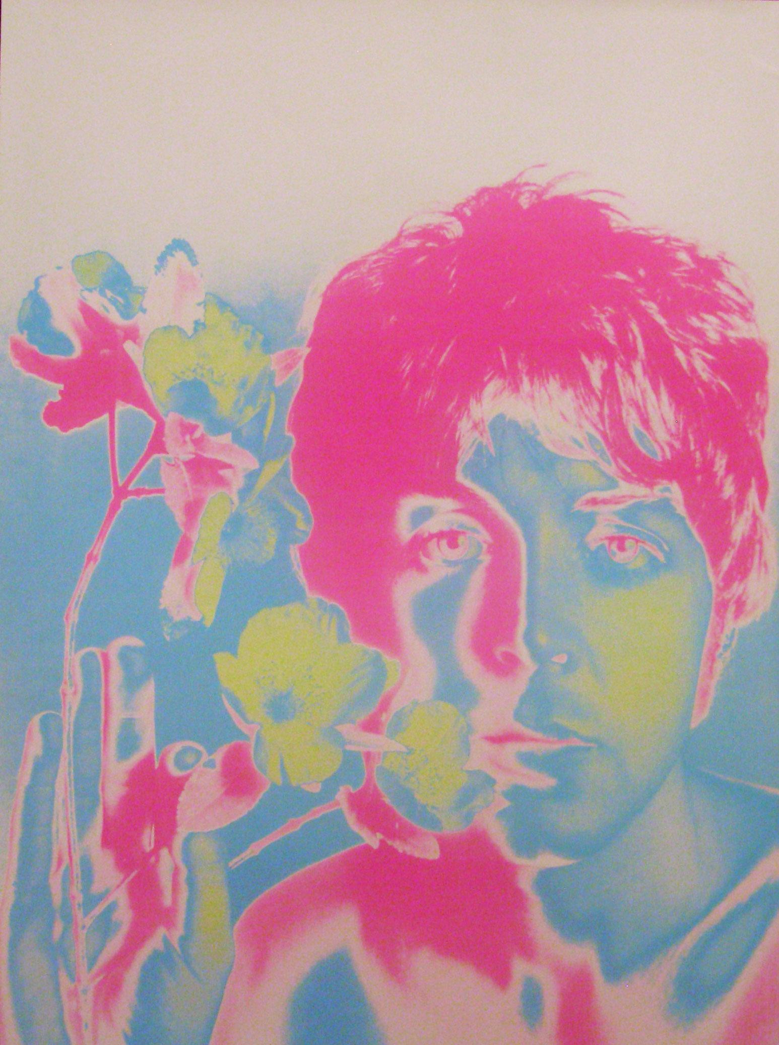 Set of four BEATLES poster by Richard Avedon