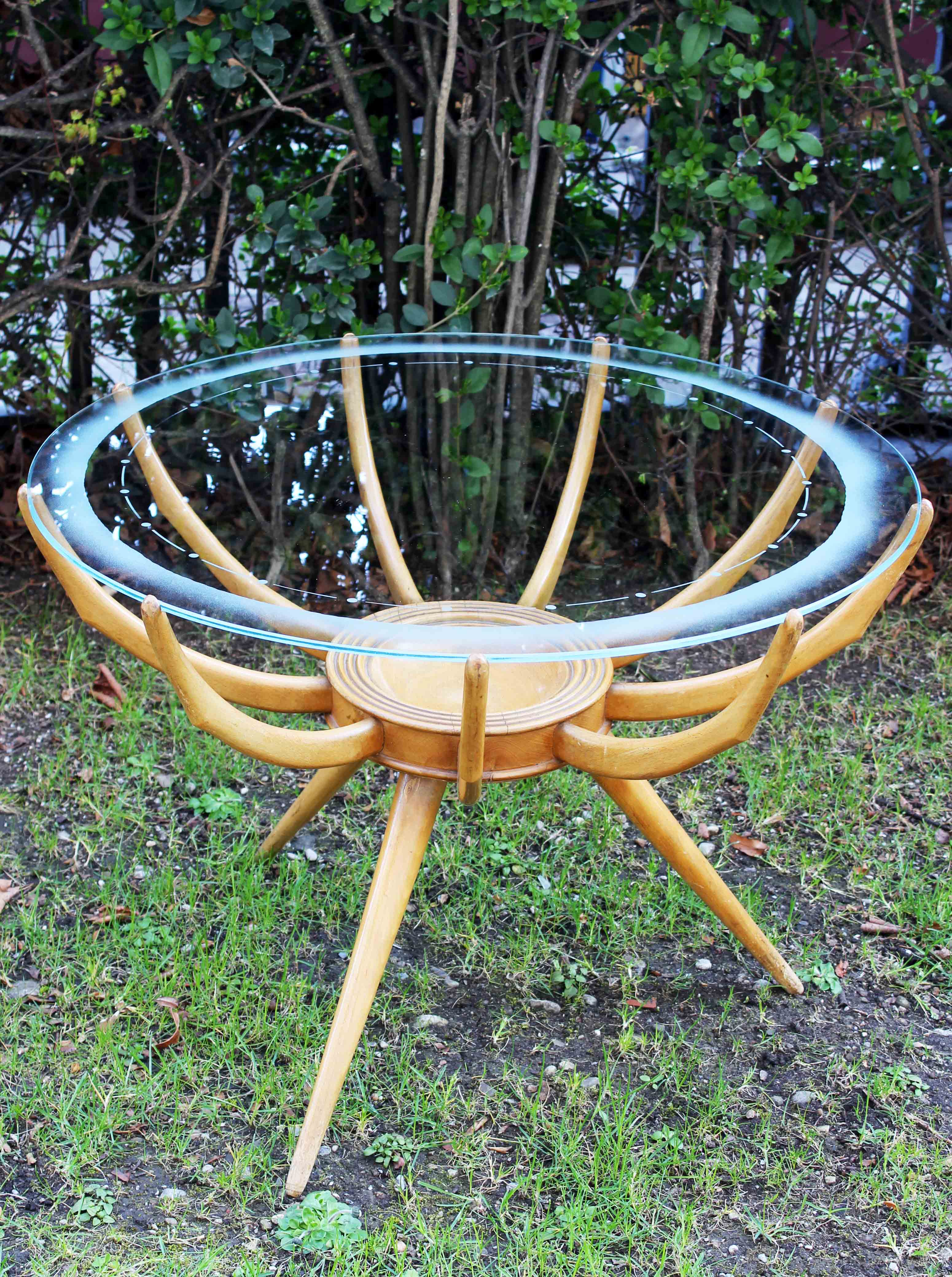"""""""Spider"""" side table made by Carlo de Carli"""