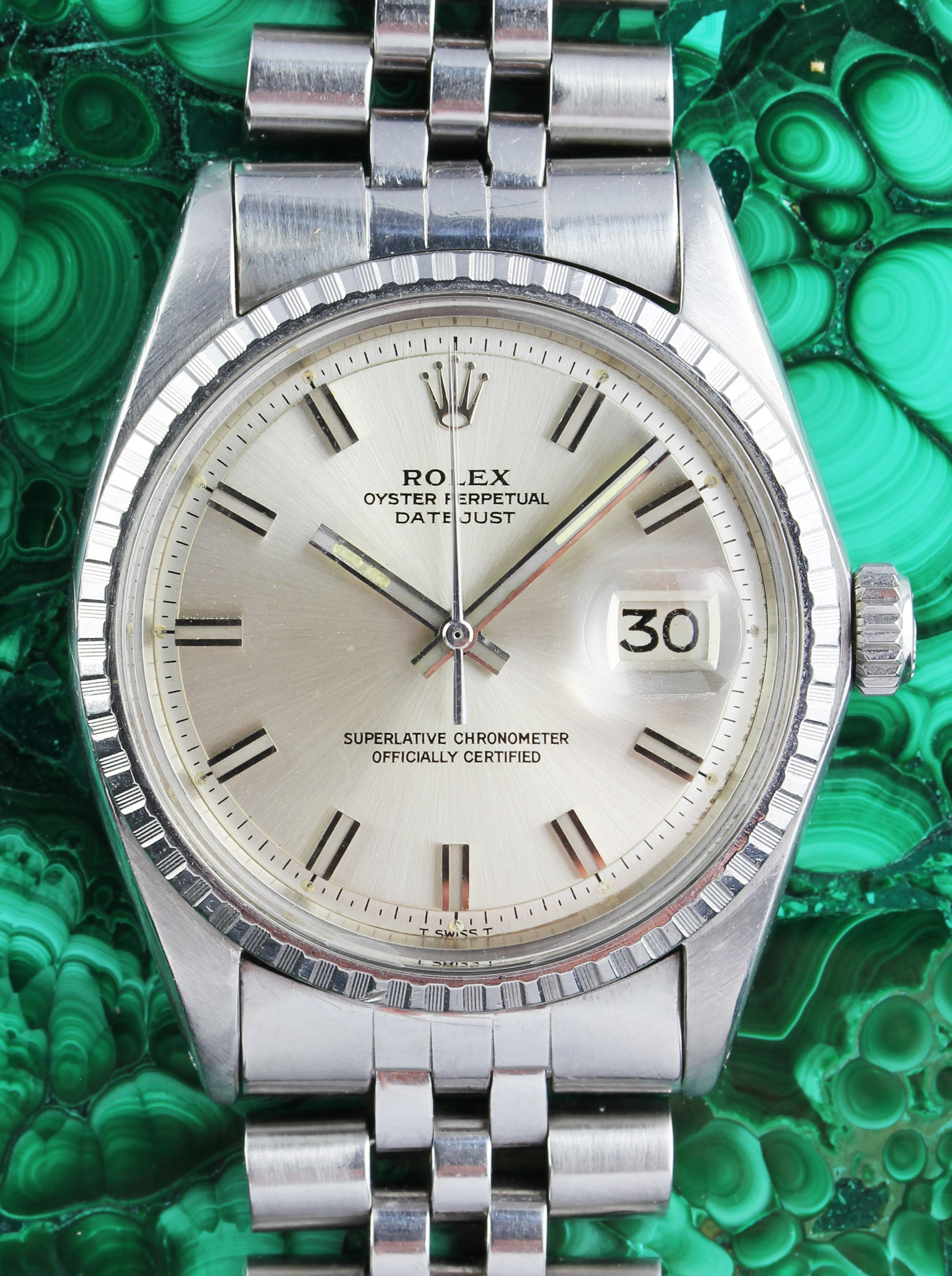 ROLEX Datejust from 1970 with original punched papers