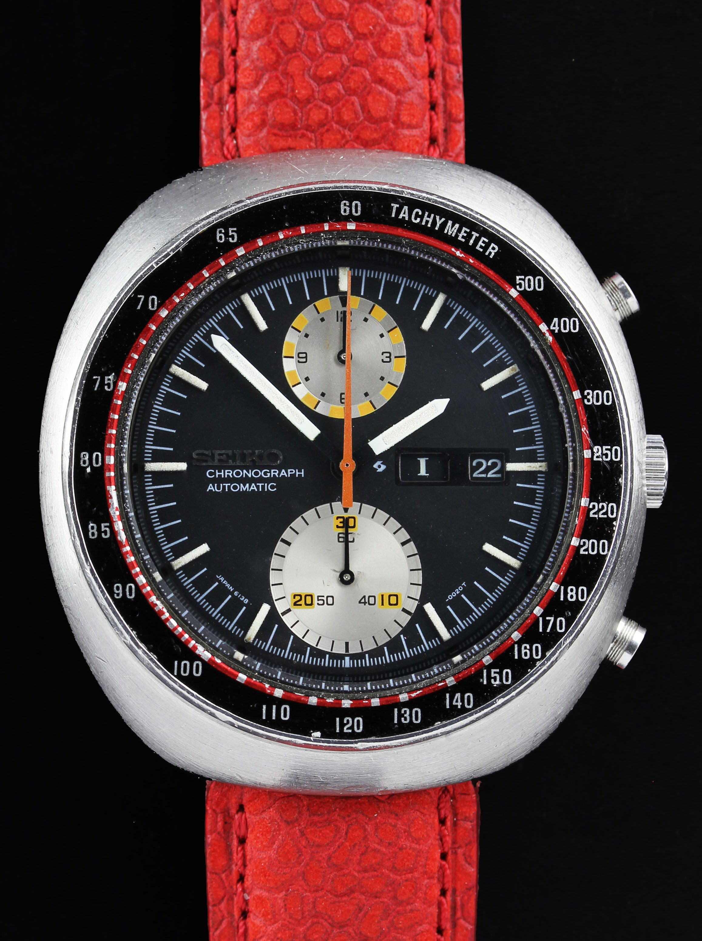 SEIKO automatic chronograph with calendar