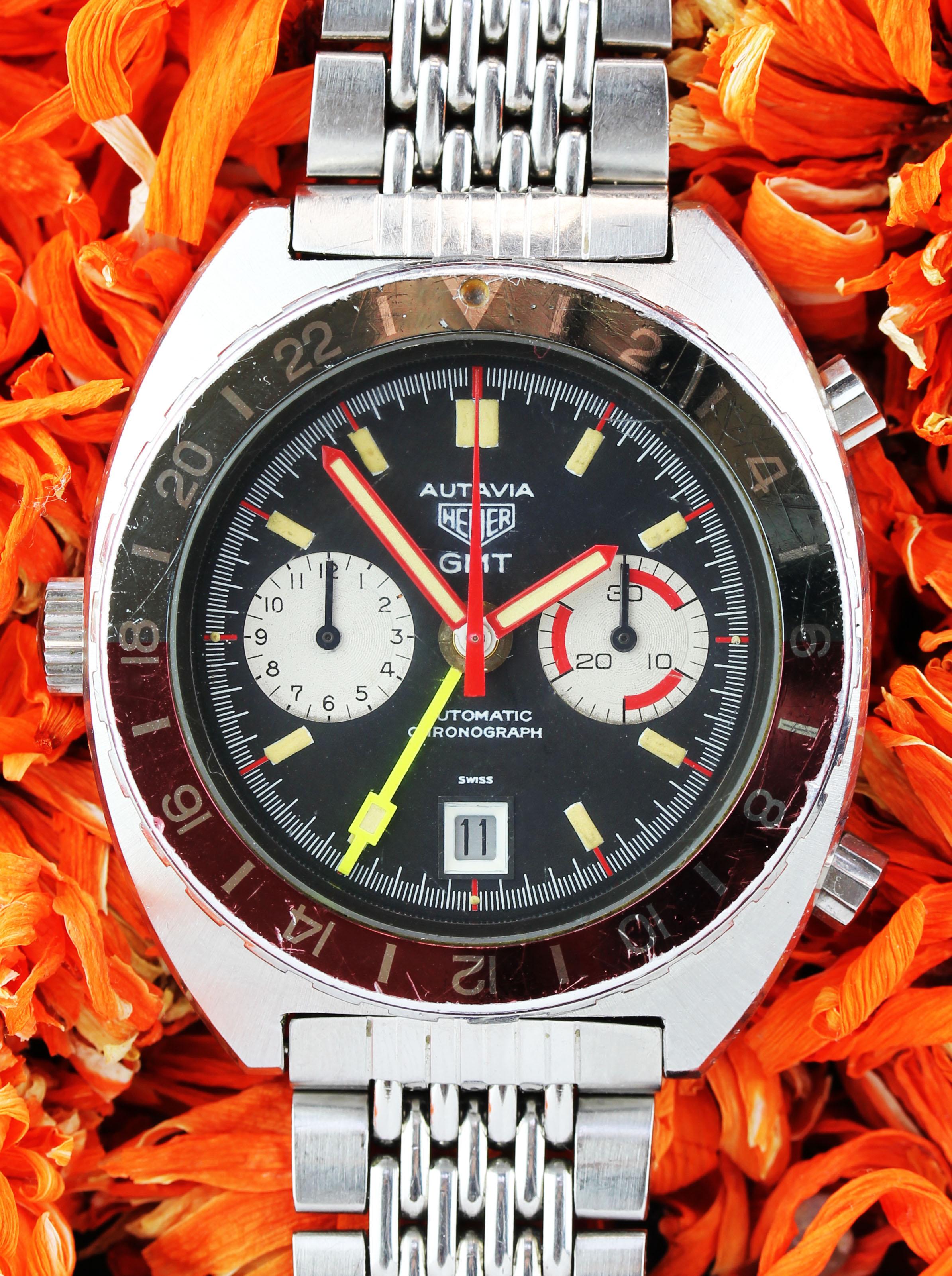 HEUER Autavia GMT ref. 11630