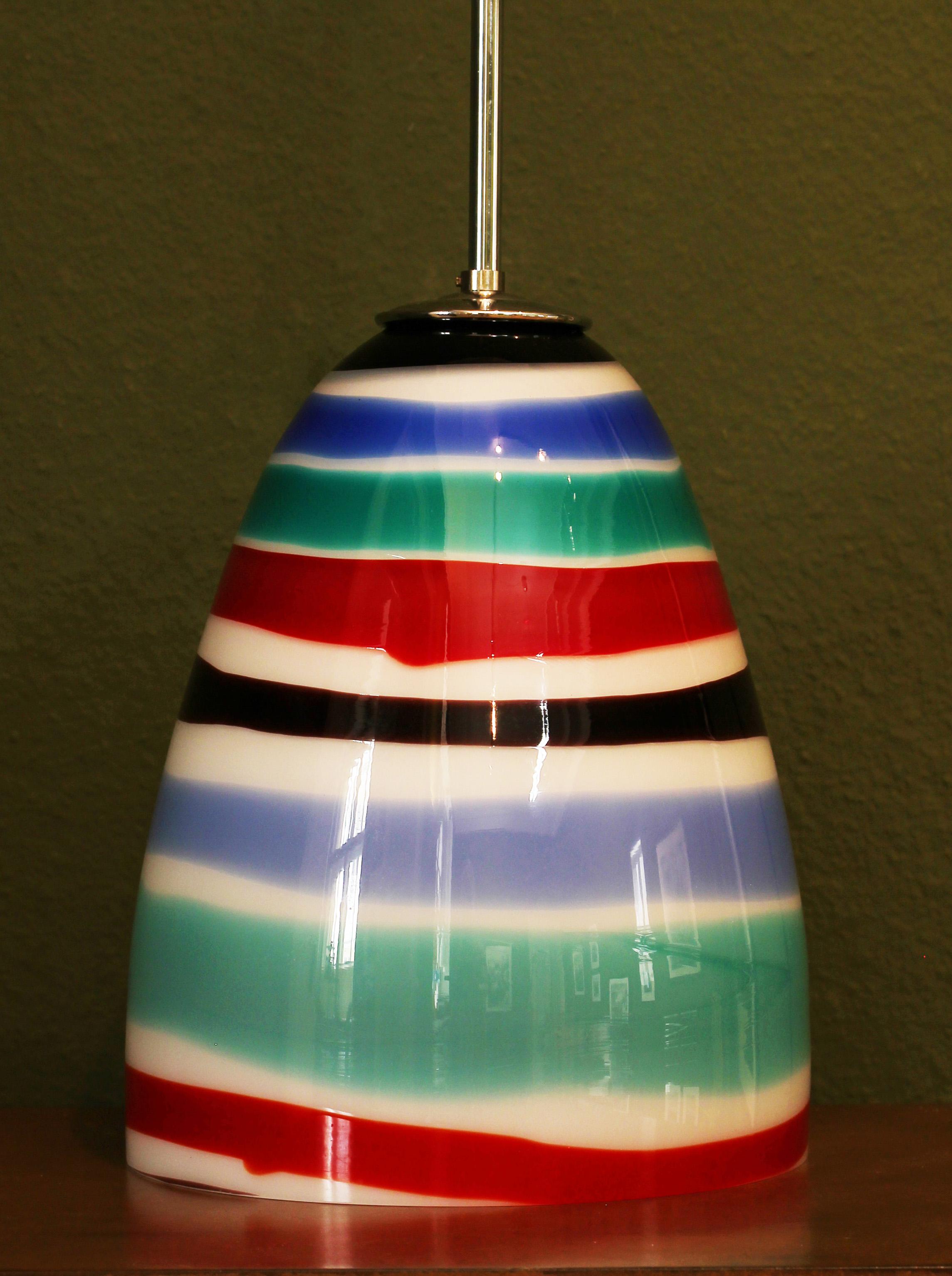 VENINI lamp by Massimo Vignelli