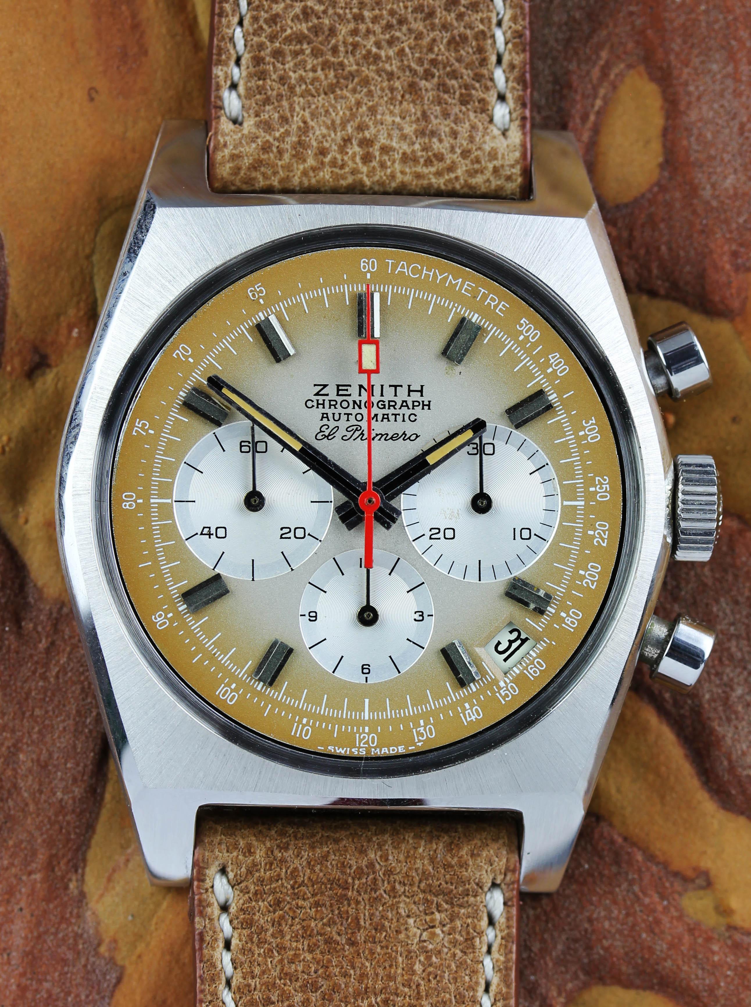 Zenith El Primero chronograph ref. A385