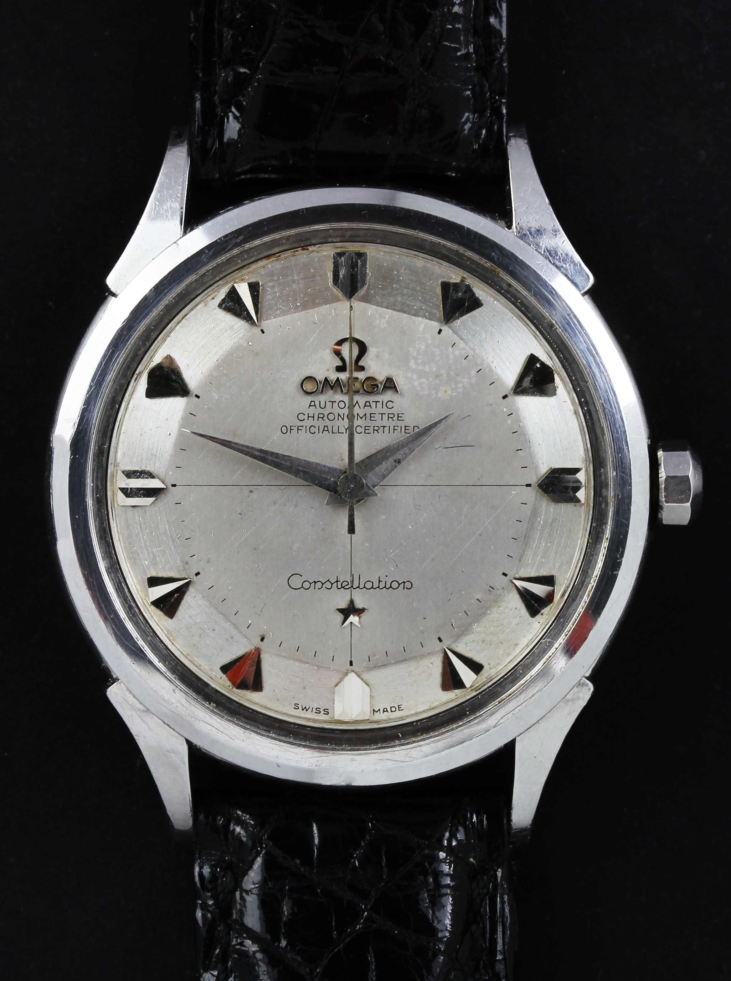 "OMEGA Constellation with rare ""Pie Pan Dial"""