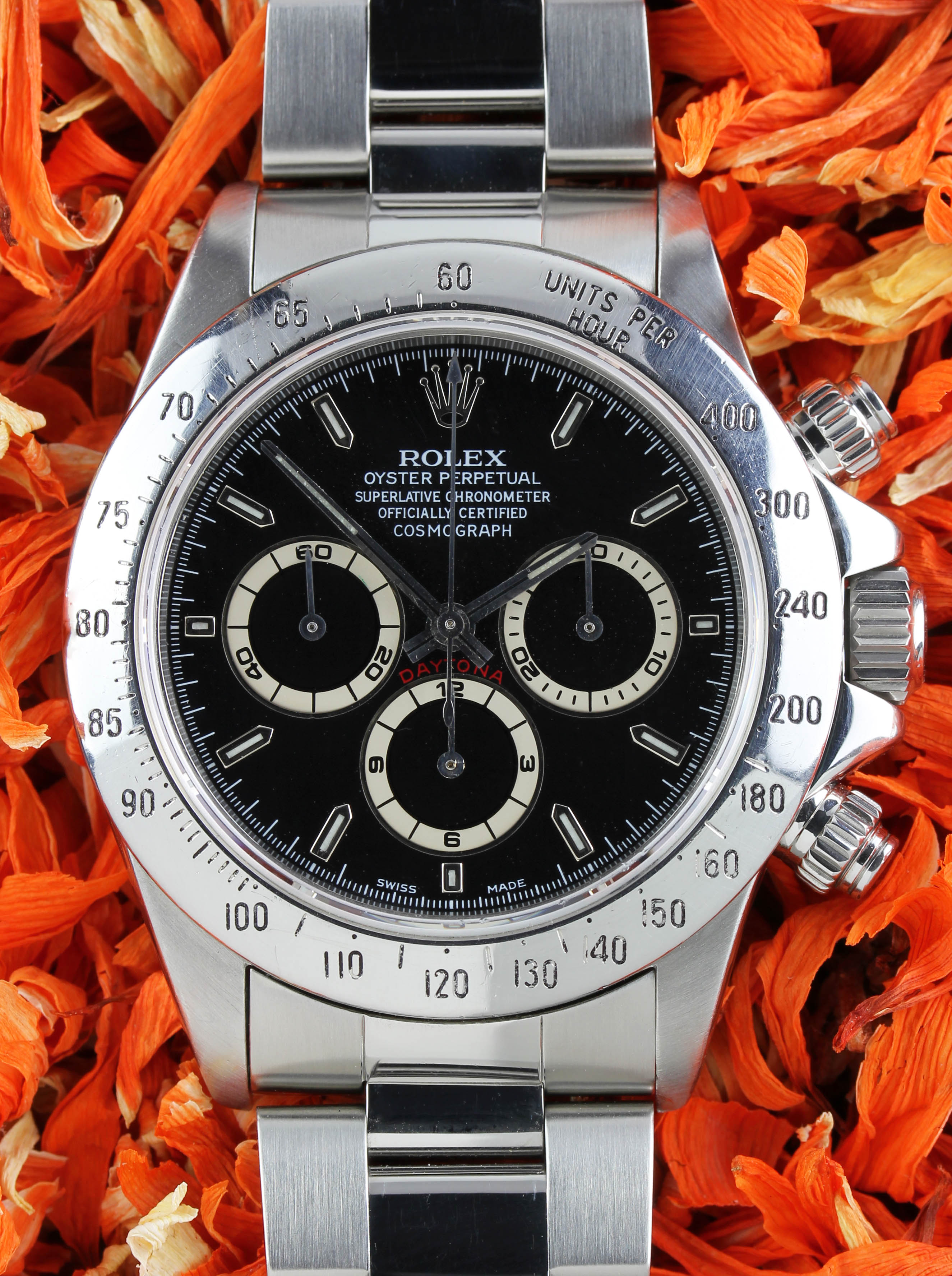 "ROLEX Daytona ref. 16520 from 1995 with ""El Primero"" movement by ZENITH"