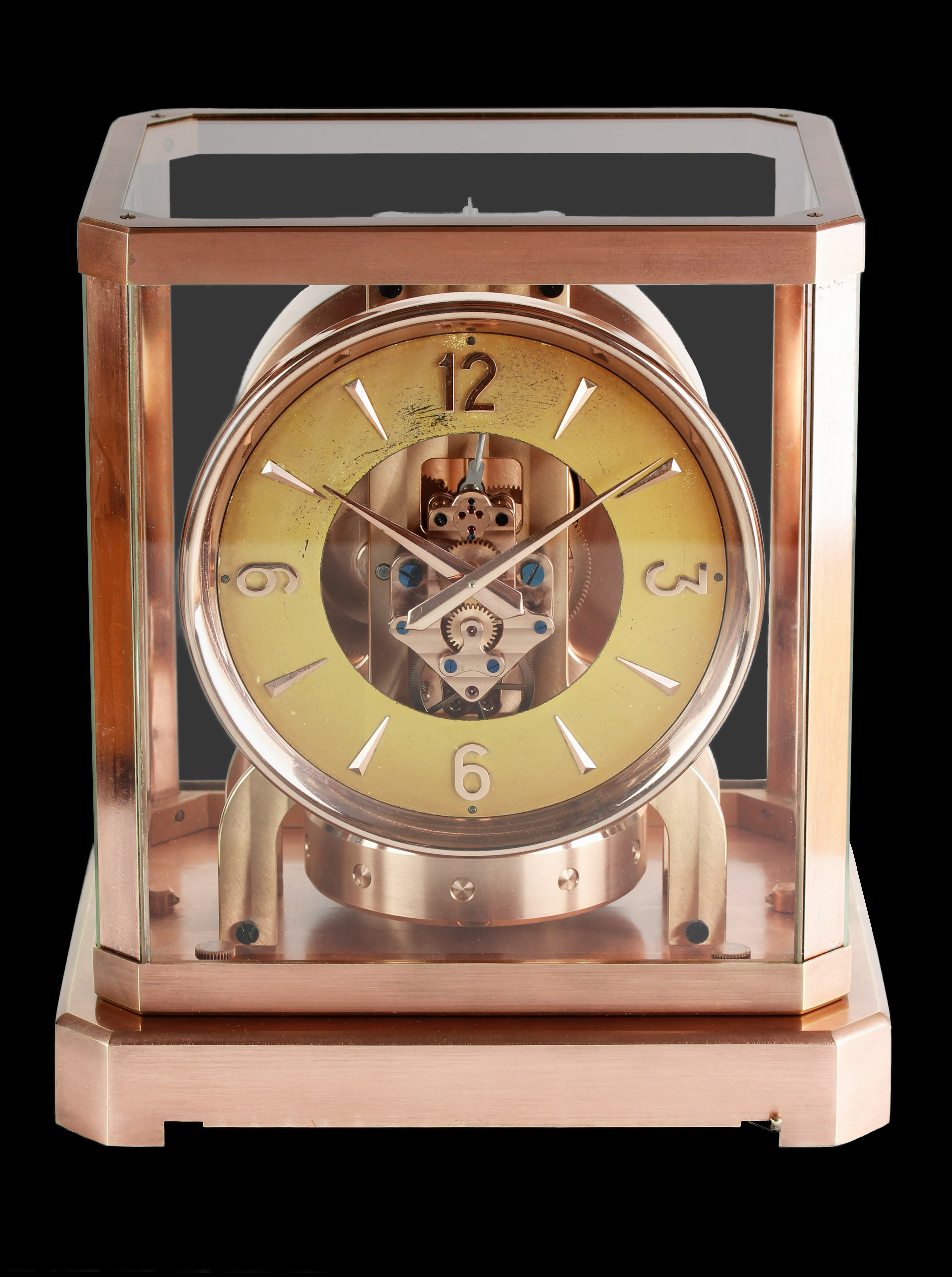 Jaeger LeCoultre ATMOS III from the early 50' ies in a rare copper case