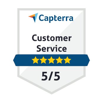 5/5 Customer Service on Capterra