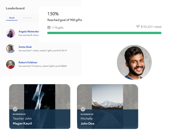 #1 Alumni Donation Management and Peer-to-Peer Fundraising Software