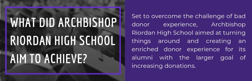 Archbishop Riordan High School grew Giving Day donations