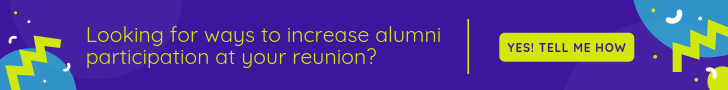 Tested ways to increase alumni participation at reunions