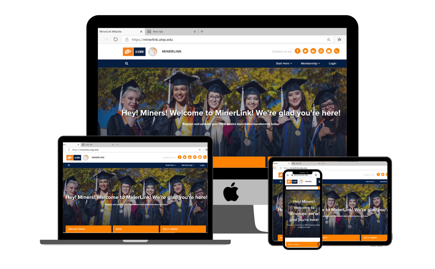 William Peace University grand welcome to the Class of 2020 virtually with Almabase