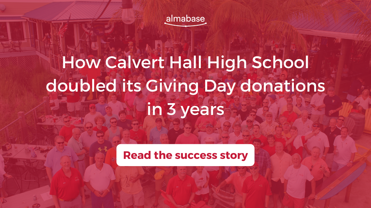 How Calvert Hall High School increased its Giving Day donations by twice as much in 3 years