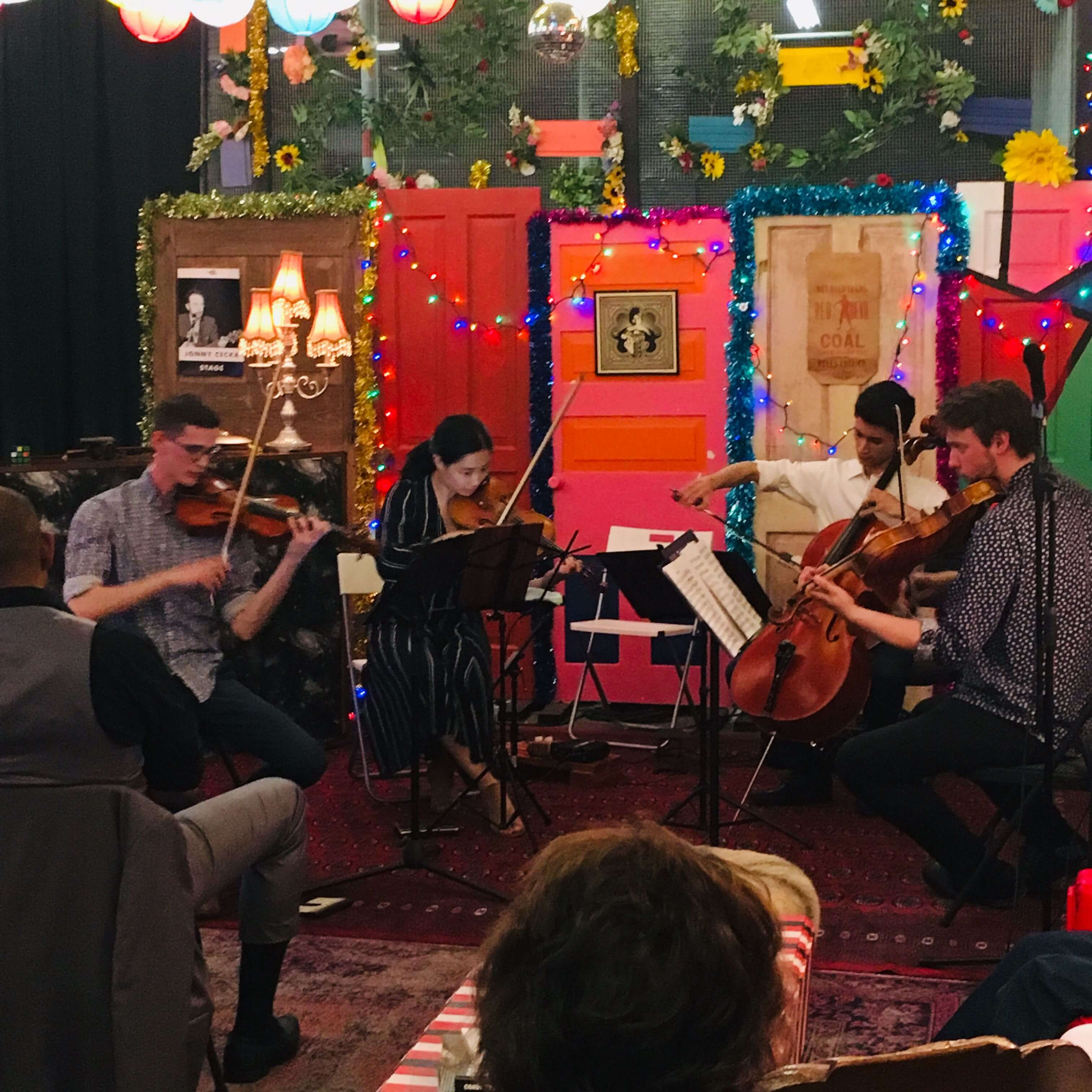 Classical performance in the Lunar Lounge