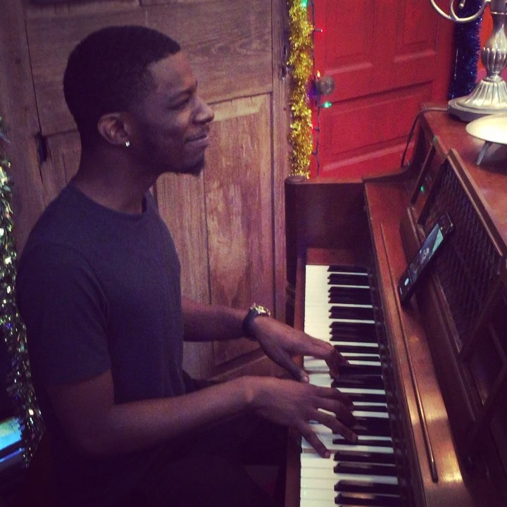 Lawrence lights up the Yamaha console piano