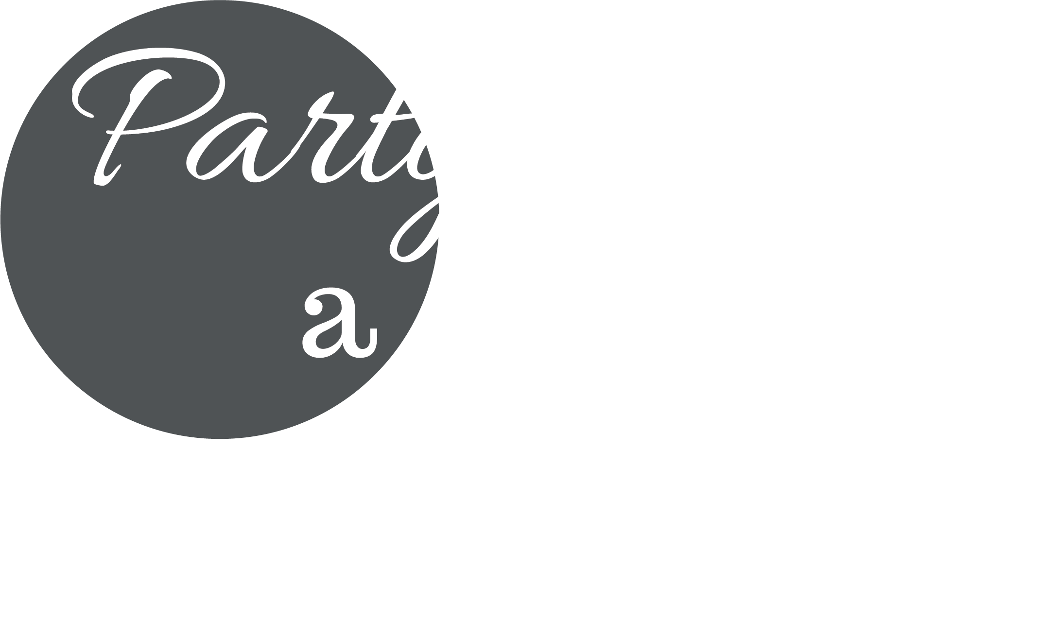 Party with a Snapp Event Planning and Design Logo