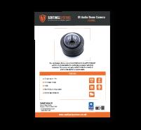 CAM005 Audio IR Dome Camera Datasheet