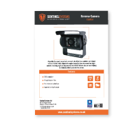 CAM057 Reverse Camera Datasheet