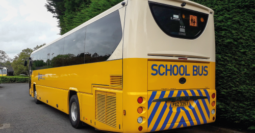 Sentinel delivers safety camera systems to over 100 school buses in Northern Ireland