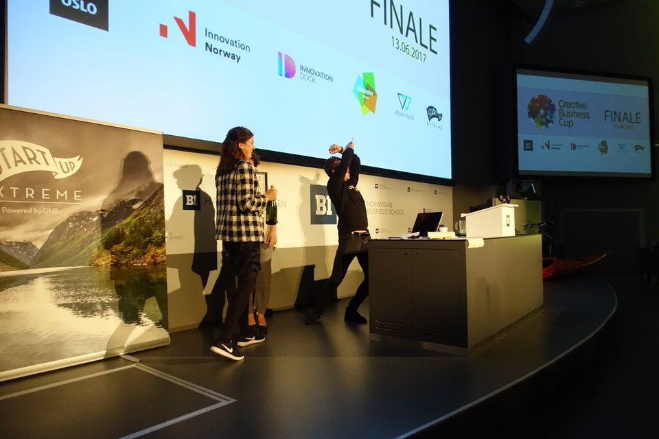 Graphiq kåret til Norges beste kreative gründerbedrift