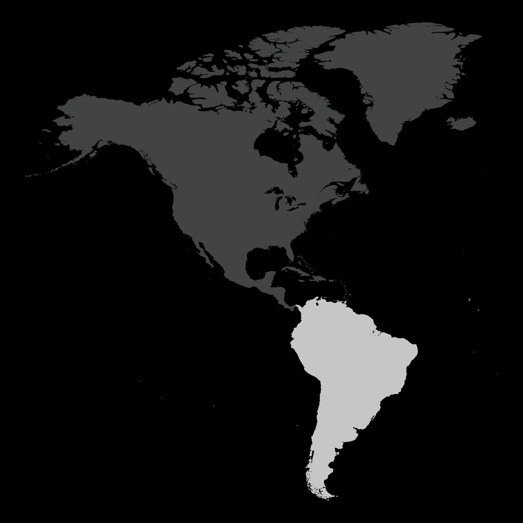 North & Central America Map