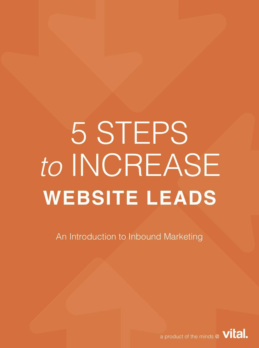 5 Steps to Increase Website Leads