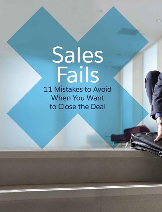 Sales Fails: 11 Mistakes to Avoid