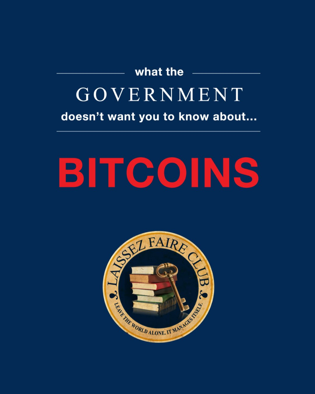 What the Government doesn't Want you to know about.. Bitcoins