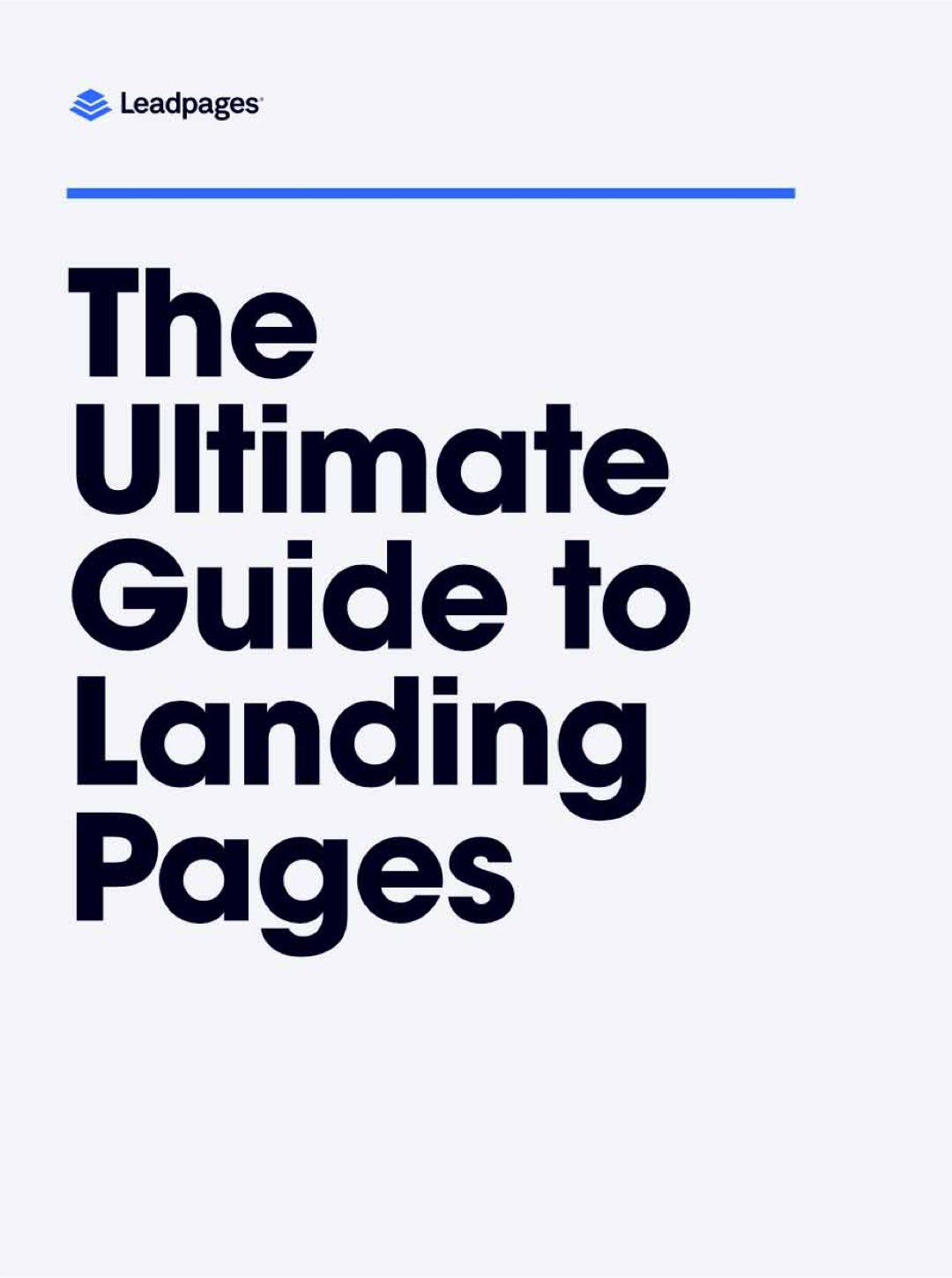 The Ultimate Guide to Landing Pages