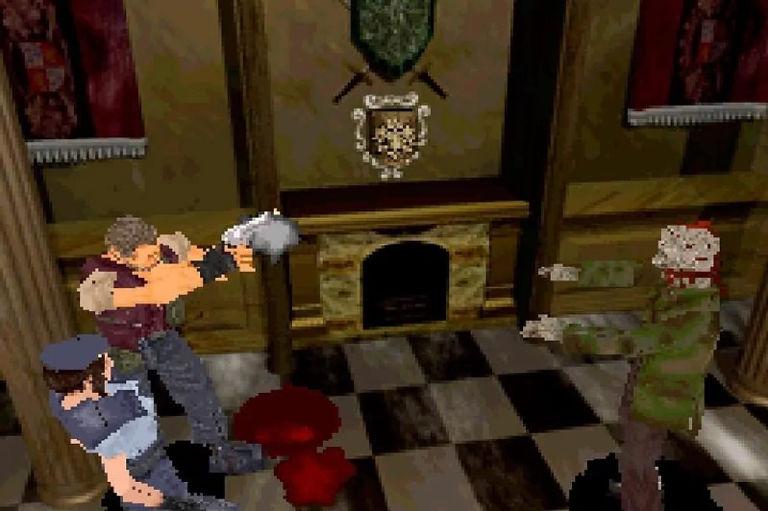 Resident Evil Videojuego de 1996